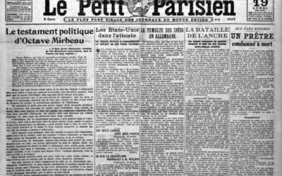 Le faux testament politique d'Octave Mirbeau