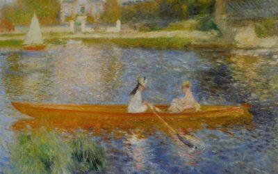 Octave Mirbeau et Claude Monet