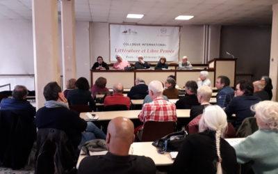 Relation du colloque «Libre Pensée et littérature» des 14 et 15 Février 2020